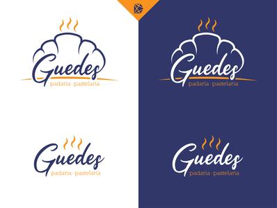 Guedes Bakery Logo Design