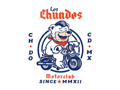 Chundos Motor Club motor mexico racing motorcycle club road bear bike motorclub