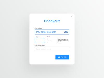 Daily UI — Checkout