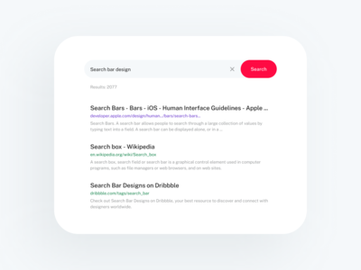 Daily UI — Search