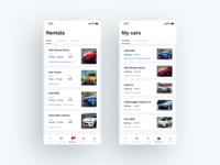 Car Sharing Mobile App