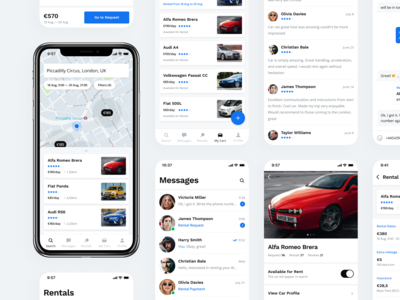 Alfred — Carsharing Mobile App