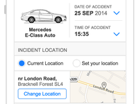 Car Hire - Incident Reporting