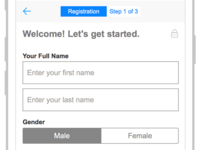 Customer Signup