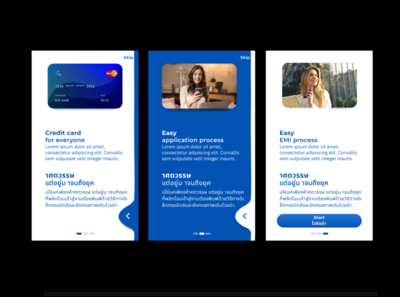 Onboarding screen supporting two languages onboarding screen intro screen guide screen app illustration design ux ui