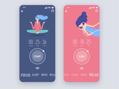 Timer/Meditation app