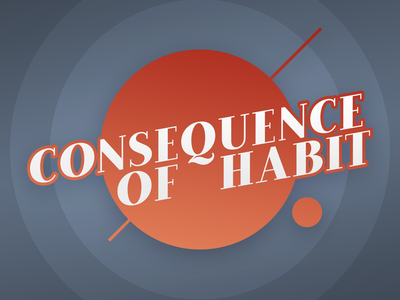 Podcast Covers #5: Consequence of Habit podcast design brand design brand identity branding brand podcast brand podcast logo podcast artwork podcast cover art podcast cover podcast art podcast