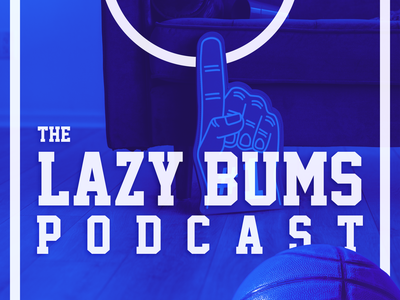 Podcast Covers #7: The Lazy Bums Podcast brand design brand identity branding design brand branding podcast logo podcast artwork podcast cover art podcast cover podcast art podcasts podcast