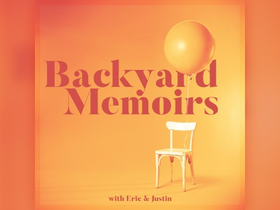 Podcast Covers #11: Backyard Memoirs podcast branding branding brand identity brand logo podcast brand podcast logo podcast artwork podcast cover art podcast art podcast cover podcasts podcast