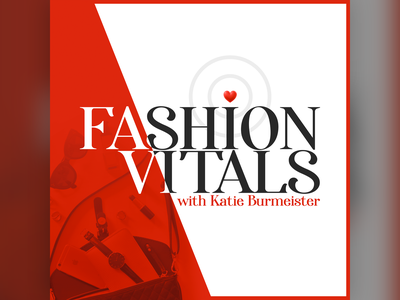 Podcast Covers #14: Fashion Vitals podcasts logo branding brand podcast brand podcast branding podcast cover art podcast artwork podcast logo podcasting podcast cover podcast art podcast