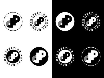 Junction Point Network Logo Mark branding brand logo design logo icon icon logomark logo