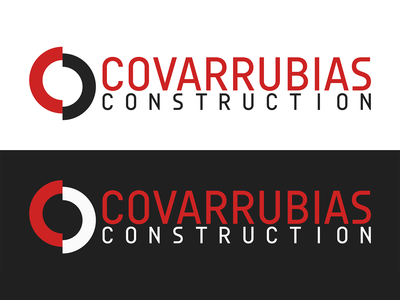 Covarrubias Construction brand and identity branding design brand identity construction brand design branding brand logos logodesign logotype logo design logo