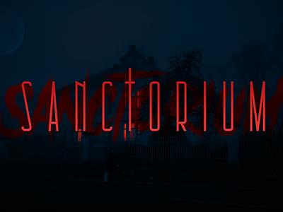 Sanctorium – Game Logo design gaming logotype game branding simplistic brand logo game logo