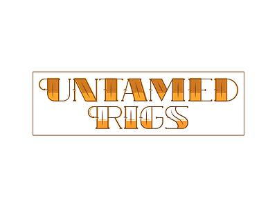 Logo Practice #7: Untamed Rigs practice simplistic brand logo