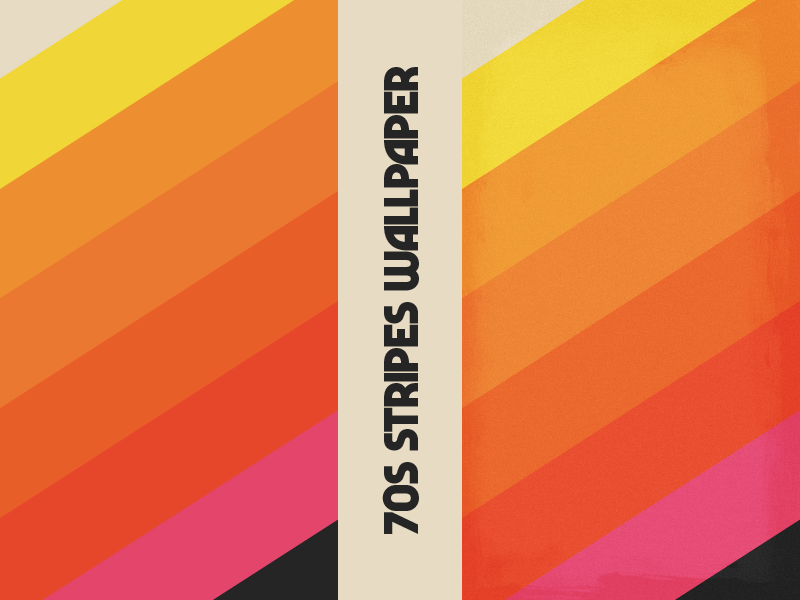 70s Stripes Wallpapers By Andrew David Jahchan On Dribbble