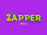 Logo Practice #16: Zapper Media