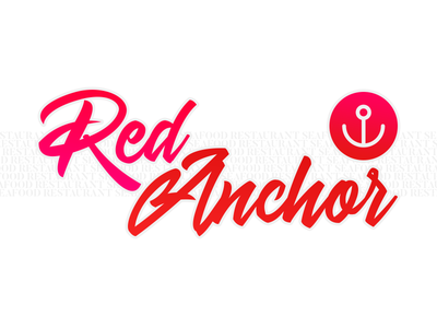 Logo Practice #23: Red Anchor