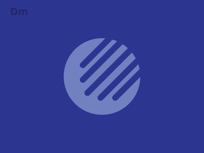 Personal Branding Exploration 1/3 block color shape flat web design web personal branding blue clean
