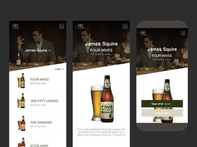 Beer App adobe mobile ui android ios mobile app app alcohol beer