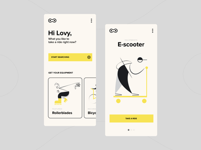 TRRN - Mobile App agon agonmustafa minimal clean user interface user experience vector ux typography inspirational design illustration ui app mobile