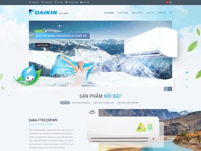 Daikin Website