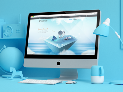 Diamond World Website