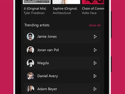 Trending artists lumia microsoft wp10 windows10 techno sleeve sleevemusic