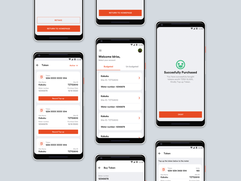 Helios Towers-TZ   GH   CONGO   DRC   SA   payment method finance app electric payment app android app ux branding app android user interface design userinterface user experience ui design