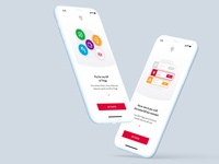 Onboarding animation for Tingg app