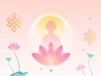 Tibetan Calendar Illustration