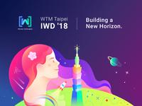 WTM Taipei IWD'18 - Building a New Horizon