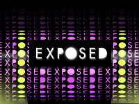 Banner design for youth event: Exposed