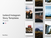 Product - Iceland Instagram Story Templates