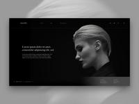 Layout 3.7 | Salon Landing page