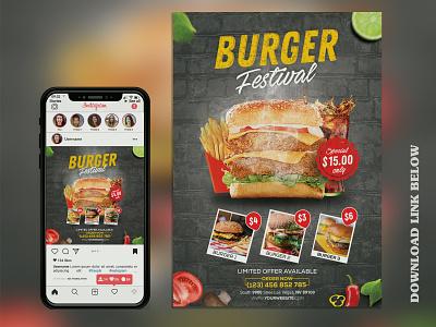 Restaurant Flyer ui branding design graphicriver fiverr