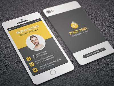 Phone Business Card
