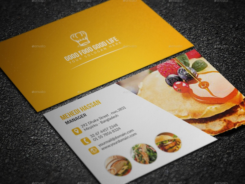 Restaurant Business Card pizza photography business card photography party night modern business card modern flyer fast food dvd drink business card dj creative business card creative corporate business card corporate coffee chef business card business card burger