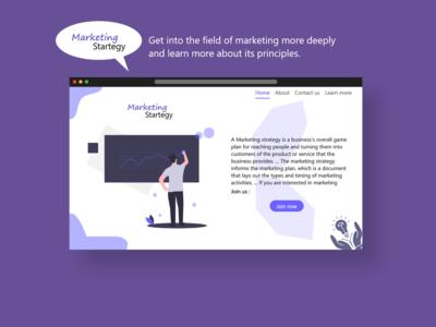 Marketing Strategy Website
