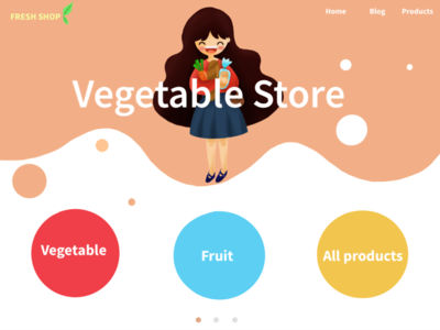 Shop vegetable