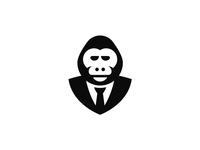 Gorilla in a suit