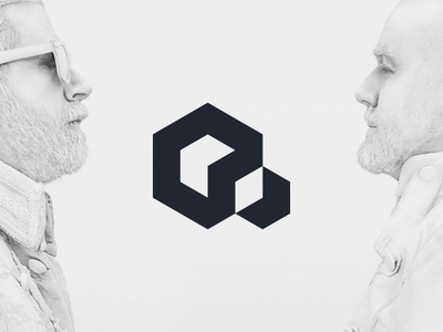 Reform Collective cube box reform collective branding minimal simple logo logo design