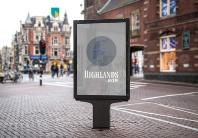 Highlands Brew Signage