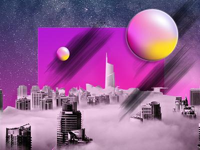 Futuretense photomanipulation creative design