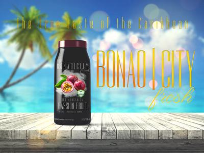 Bonao City juice caribbean dominican republic photoshop package mockup branding product design creative design