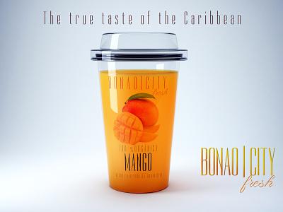 Bonao City Mango organic food healthy lifestyle juice photoshop dominican republic package mockup product design branding design