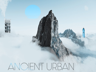 Mountains Of Madness science fiction photoshop photomanipulation creative design