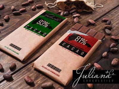 Juliana Chocolatier advertising chocolatier dominican republic poster-design cacao