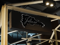Juliana Chocolatier Signage