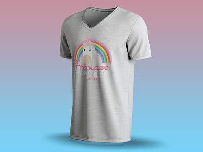 Frances Fantasy bake shop T-Shirt Mockup t-shirt design logo design