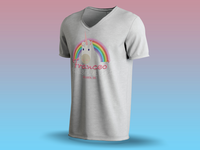 Frances Fantasy bake shop T-Shirt Mockup